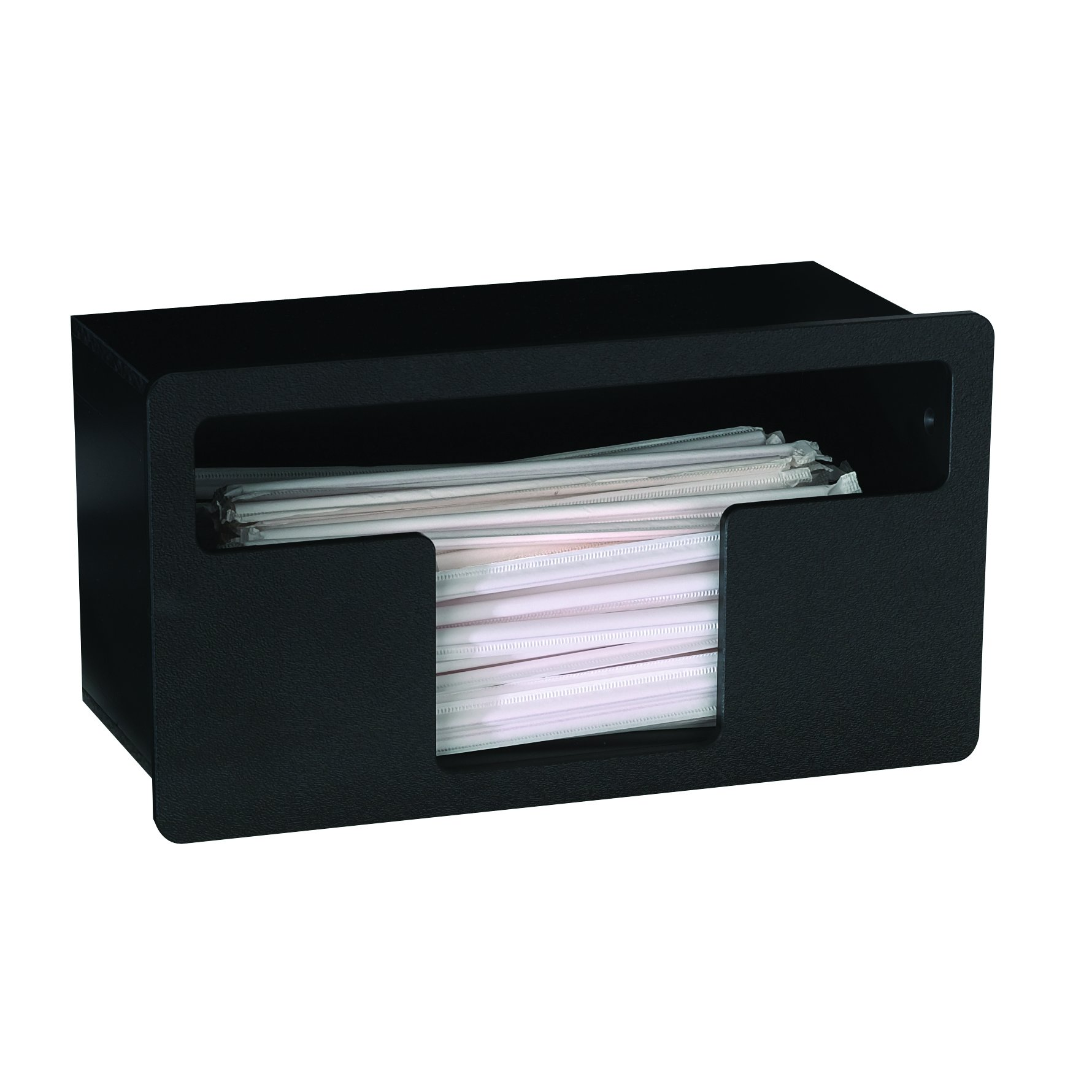 Dispense-Rite FMTS-1BT Built-in Wrapped Straw Organizer by DISPENSE-RITE