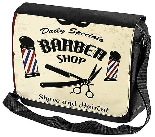 4a84a4414f Leotie GmbH Borsa Tracolla Ufficio Laboratorio Negozio di barbiere  Stampato: Amazon.it: Scarpe e borse