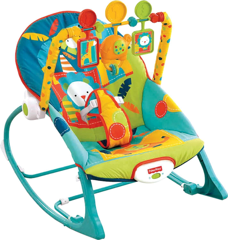 Fisher-Price Infant-to-Toddler Rocker, Dark Safari
