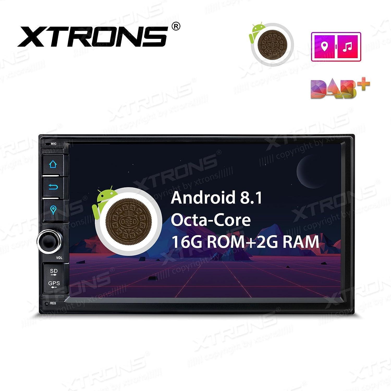 XTRONS Android 8.1 Oreo Octa Core 7 Inch 2GB DDR3 RAM Car Stereo Radio GPS 4K Video WiFi OBD2 Screen Mirroring TR771L