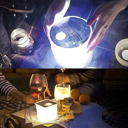 Mulang - Farol solar hinchable para acampada (LED ...