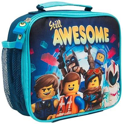 Bolsa Merienda Infantil Niño Lego Movie 2 Batman con ...