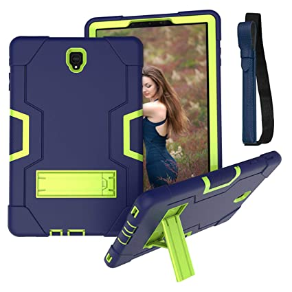 Kids Case for Samsung Galaxy Tab S4 10 5 2018 (SM-T830/T835/T837) with S  Pen Holder, [Kickstand] Rugged Heavy Duty Case Childproof Drop Protection