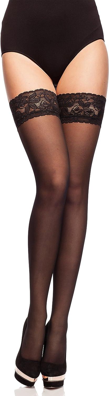 Merry Style Medias Autoadhesivas Finas Transparentes Lencería Sexy Mujer MS 200 15 DEN