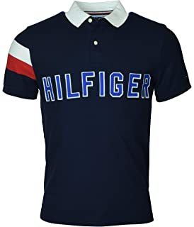 a08f45fa2 Tommy Hilfiger Men s Regular Fit Performance Pique Cotton Polo Shirt ...