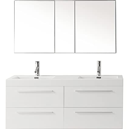 Prime Virtu Usa Finley 54 Inch Double Sink Bathroom Vanity Set In Best Image Libraries Sapebelowcountryjoecom
