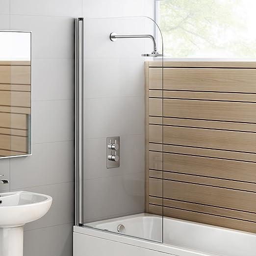 iBath - Mampara de ducha (800 x 1400 mm): iBath: Amazon.es: Bricolaje y herramientas