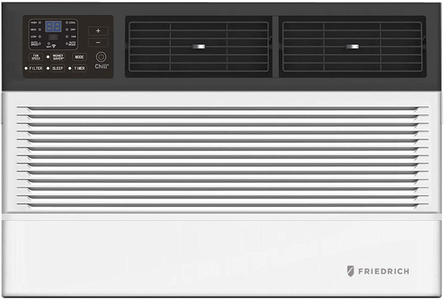 Friedrich CCW12B10A Chill Premier Smart Air Conditioner Wall & Window Unit, WiFi Mobile Control, White, Cooling Capacity (12,000 BTU)