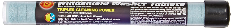 Genuine Hyundai Fluid 00232-19019 Windshield Washer Tablet, (Tube of 25)