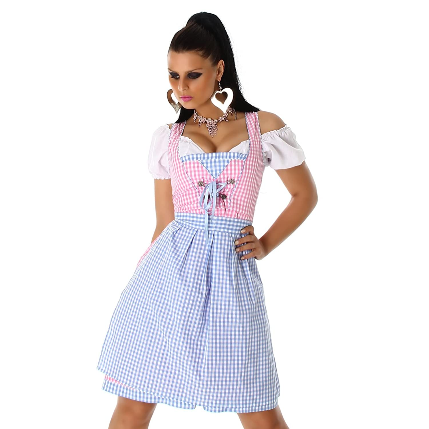 jela london damen dirndl kleid oktoberfest wasen outfit. Black Bedroom Furniture Sets. Home Design Ideas