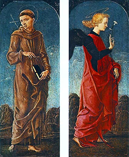 Amazon Com Cosme Tura St Francis Of Assisi And Announcing Angel
