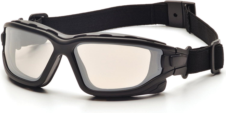 Pyramex I-Force Sporty - Gafas de lente antivaho con doble panel