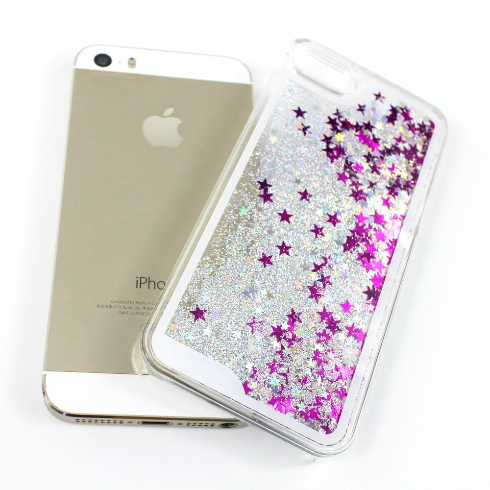 custodia iphone 5s brillantini