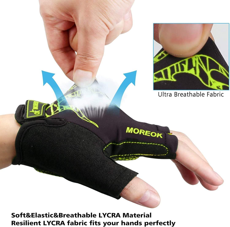 Diu Life Gants de cyclisme pour homme et femme avec rembourrage en gel anti-d/érapant et respirant