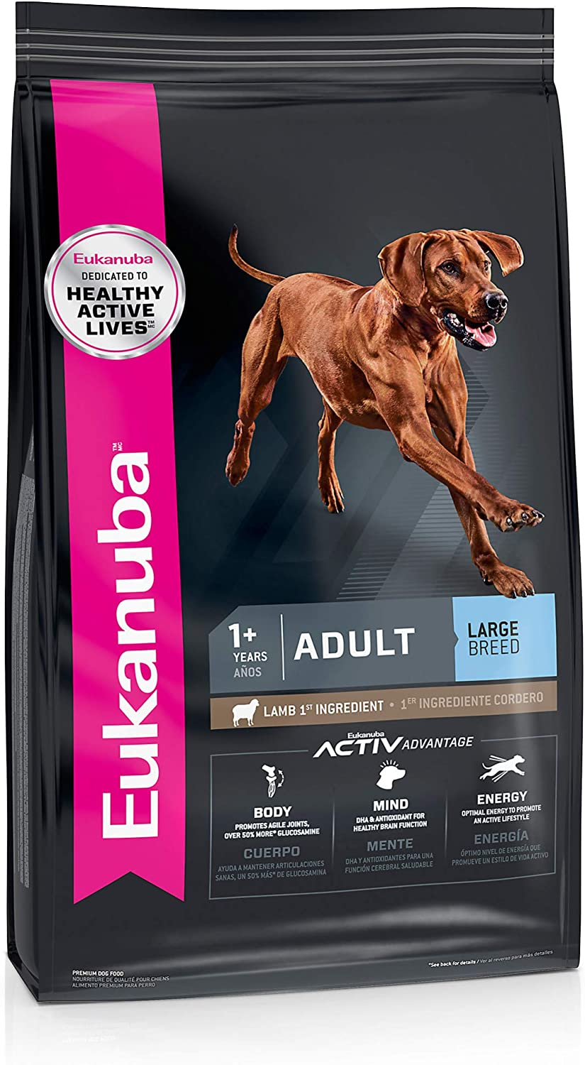 Eukanuba Adult Dry Dog Food Lamb & Rice - Large Breed