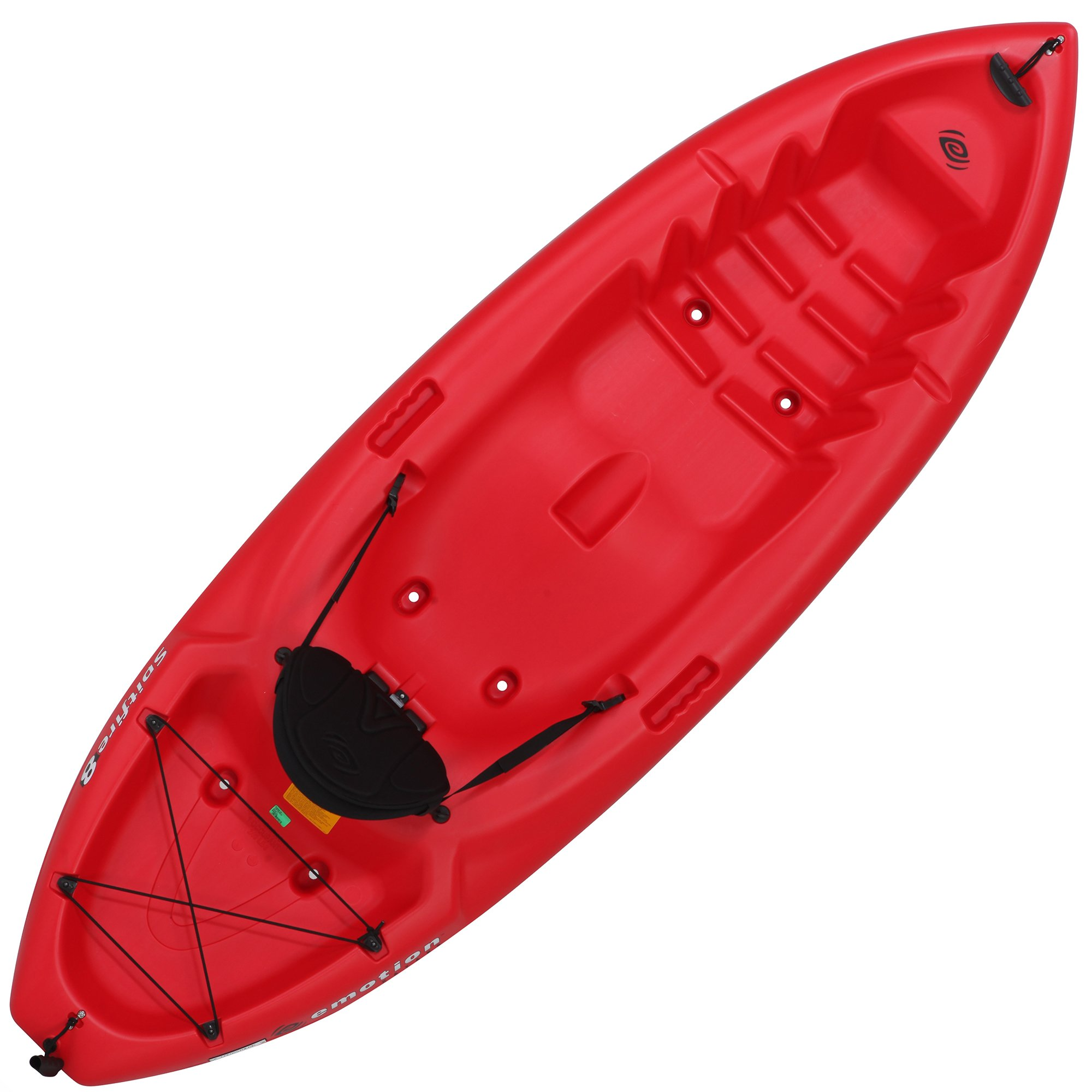 Emotion 90244 Spitfire Sit-On-Top 8 Foot Kayak, Red by Lifetime