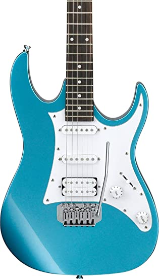 Amazon Com Ibanez Gio Series Grx40z Electric Guitar Metallic Light