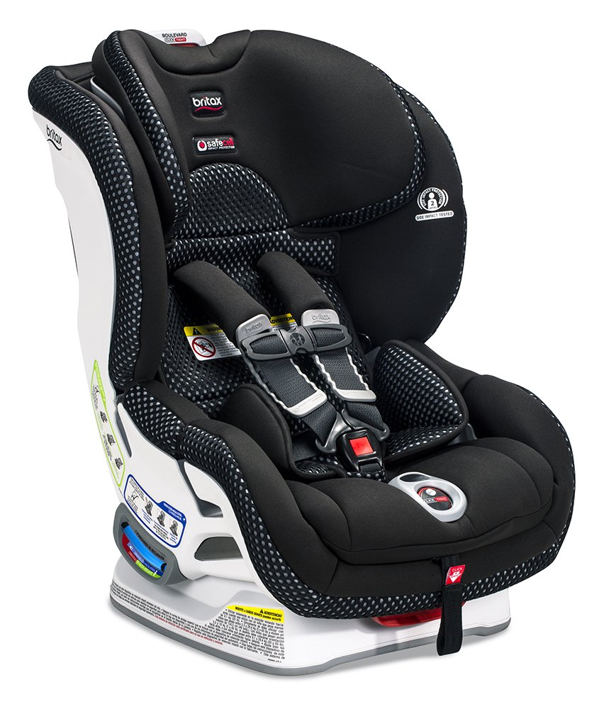 Britax Boulevard ClickTight Anti-Rebound Bar Convertible Car Seat, Circa E1A475Q