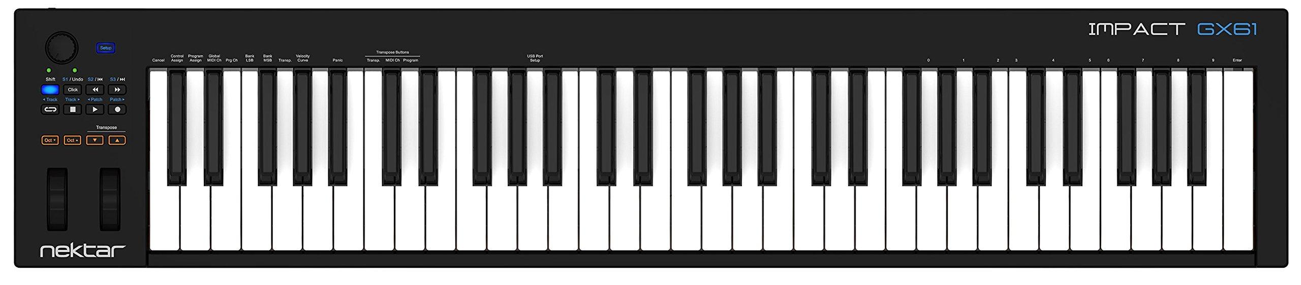 Nektar Impact GX61 Controller Keyboard by Nektar