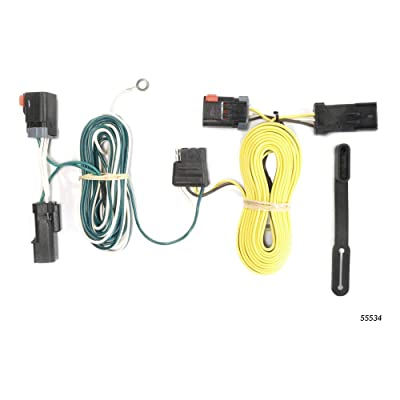 CURT 55534 Vehicle-Side Custom 4-Pin Trailer Wiring Harness for Select Chrysler 300, Dodge Challenger, Charger: Automotive