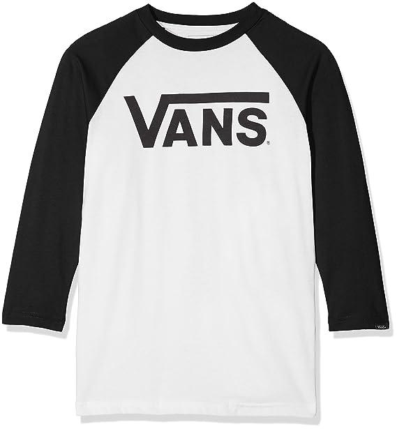 d12dbc642 Vans Boy's Classic Raglan T-Shirt: Vans: Amazon.co.uk: Clothing