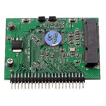 H HILABEE Mini PCI-e MSATA SSD A IDE 2.5 Pulgadas 5 V 44 ...