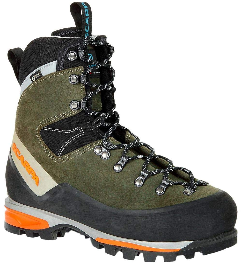 SCARPA Grand Dru GTX Mountaineering Boot - Men's Forest 46.5 by SCARPA
