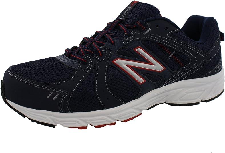 New Balance ME402SR1 Zapatillas de Correr para Hombre 4E (Extra Anchas), Multi (Rojo, Azul Marino, Plateado (Navy/Silver/Red)), 49 EU: Amazon.es: Zapatos y complementos