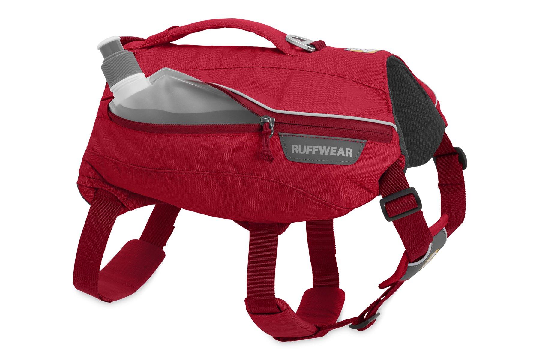 RUFFWEAR - Singletrak Hydration Pack for Dogs, Red Currant, Medium by RUFFWEAR (Image #6)