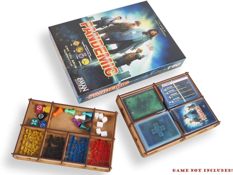 docsmagic.de Organizer Insert for Pandemic Box - Encarte: Amazon.es: Juguetes y juegos