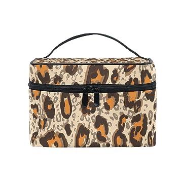 6537d99d4f63 Leopard Skin Makeup Bag | Saubhaya Makeup