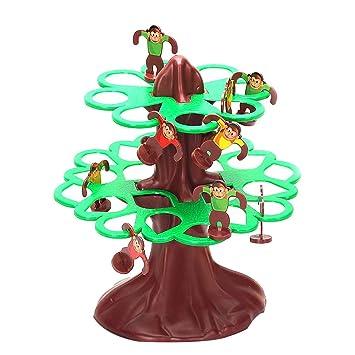 Happy Cherry Monos Felices Saltarin Juegos De Mesa Juguetes De