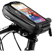 ENONEO Fiets Telefoon Houder Waterdichte Fiets Mobiele Telefoon Houder met Gevoelige Touchscreen Hard Shell Bike Stuur…