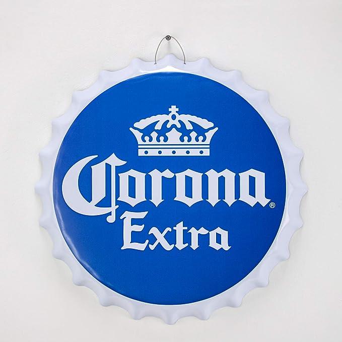 Corona Extra Beer Badged Adjustable Cap Grey BNWT Mexico Man Cave Party Cerveza