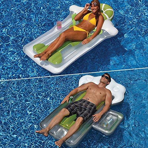 (Swimline Beer Mug & Margarita Mattress Combo Pack for Swimming Pools)