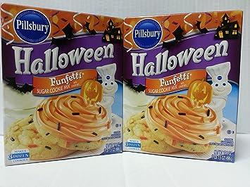 pillsbury halloween funfetti sugar cookie mix pack of 2