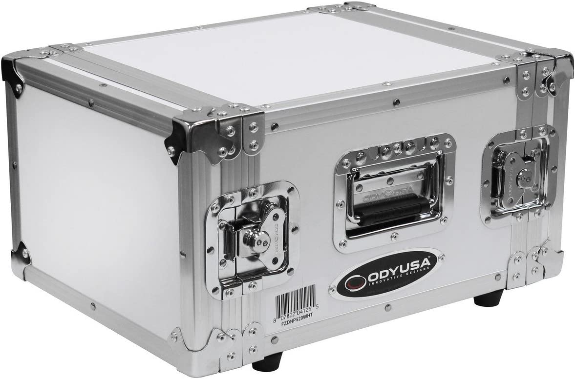 Flight Zone Photo Booth Printer Case White Odyssey Cases FZDNP620WHT