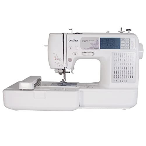 Brother SE400 - Best Sewing Embroidery Machine For Home Use