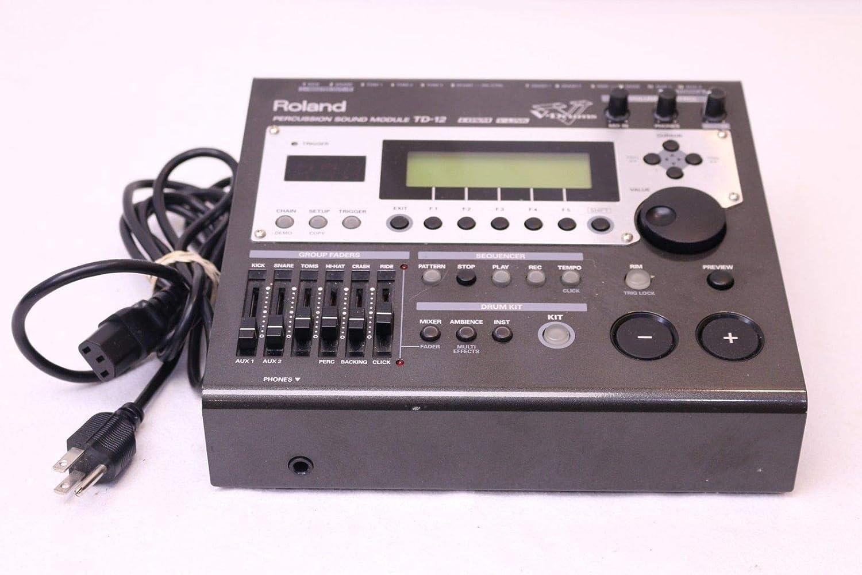 6b4b9c1dae4a Roland TD-12 Electronic V Drum Trigger Sound Module  Amazon.co.uk   Electronics