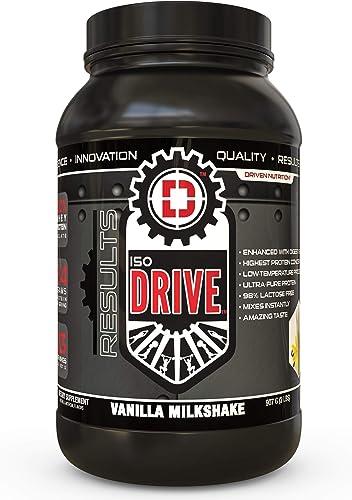 ISODRIVE Premium Whey Isolate Vanilla Milkshake