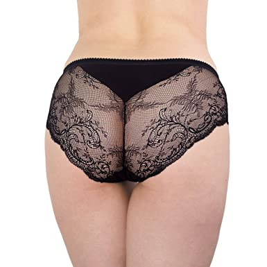 Best Selling Women's Sexy Lace Back Briefs Panties at Amazon ...