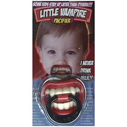 Burning Lust vampiro, Chupete Billy Bob Baby Artículo de broma ...