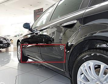 Cuerpo Lateral Molduras puerta moldura Kit Trim pantalla protectora Negro Colour apto para Alfa Romeo 159 4d SW: Amazon.es: Coche y moto