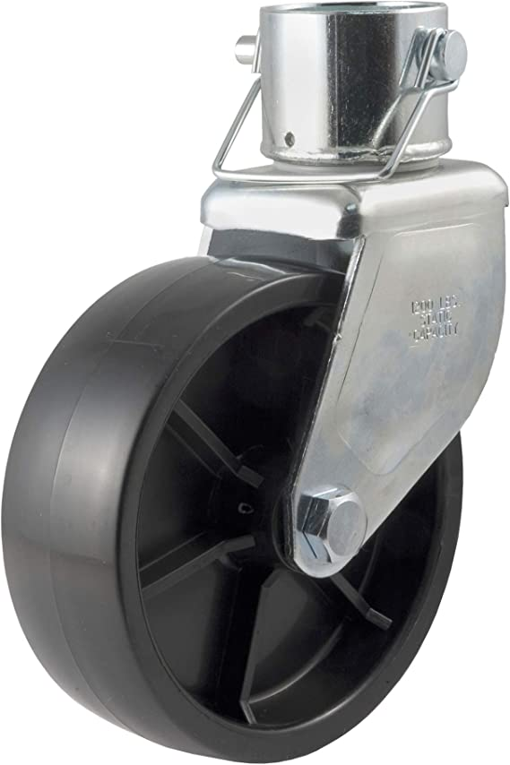 CURT 28276 6-Inch Caster Trailer Jack Wheel Replacement