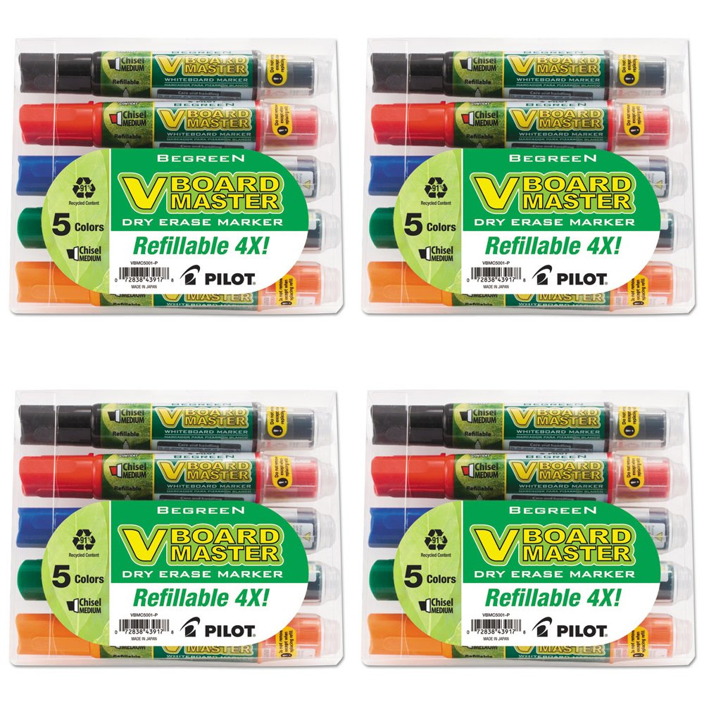 PIL43917 - Pilot BeGreen Dry Erase Marker (4 Pack)