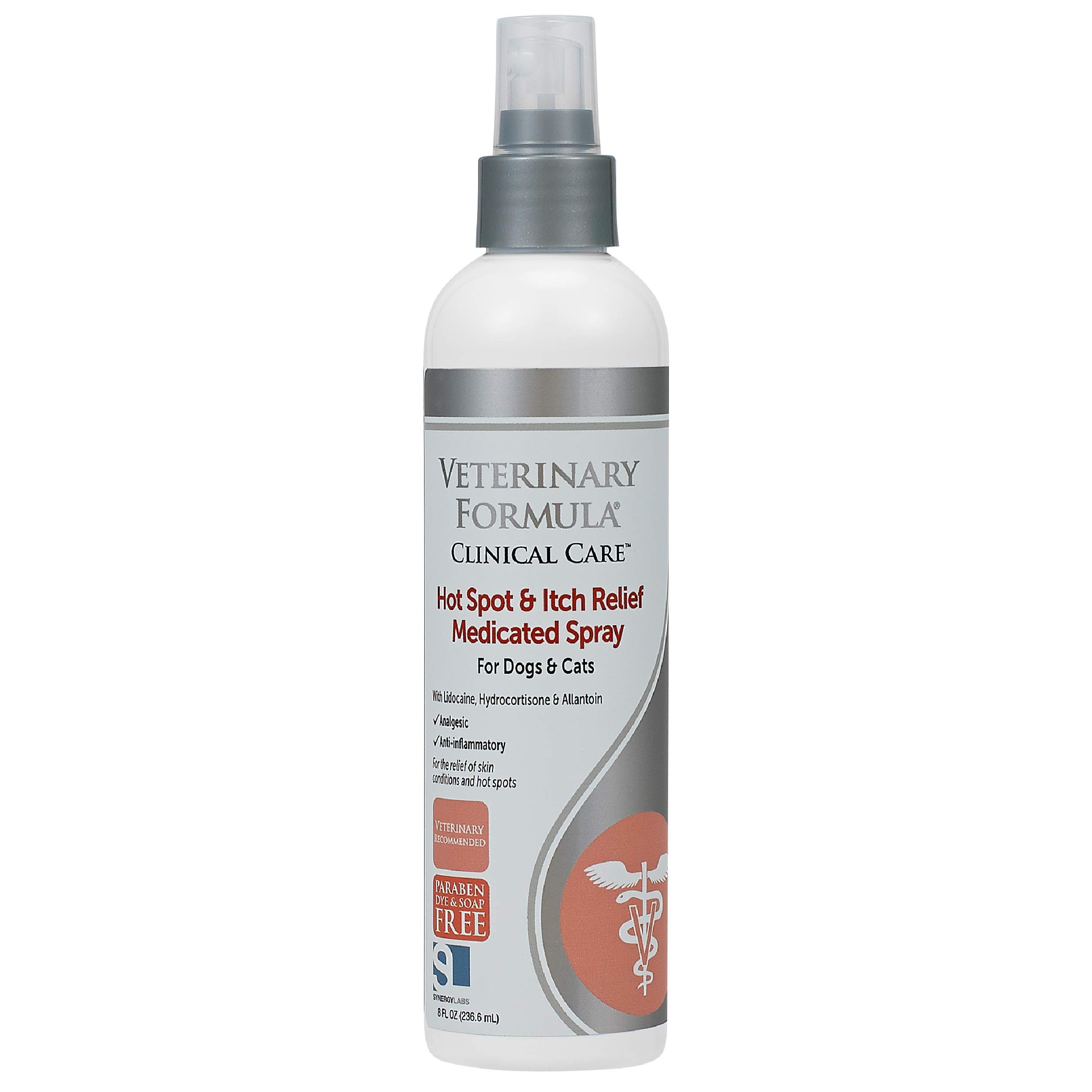 Veterinary Formula Clinical Care Hot Spot & Itch Relief Spray/Shampoo for Dogs and Cats