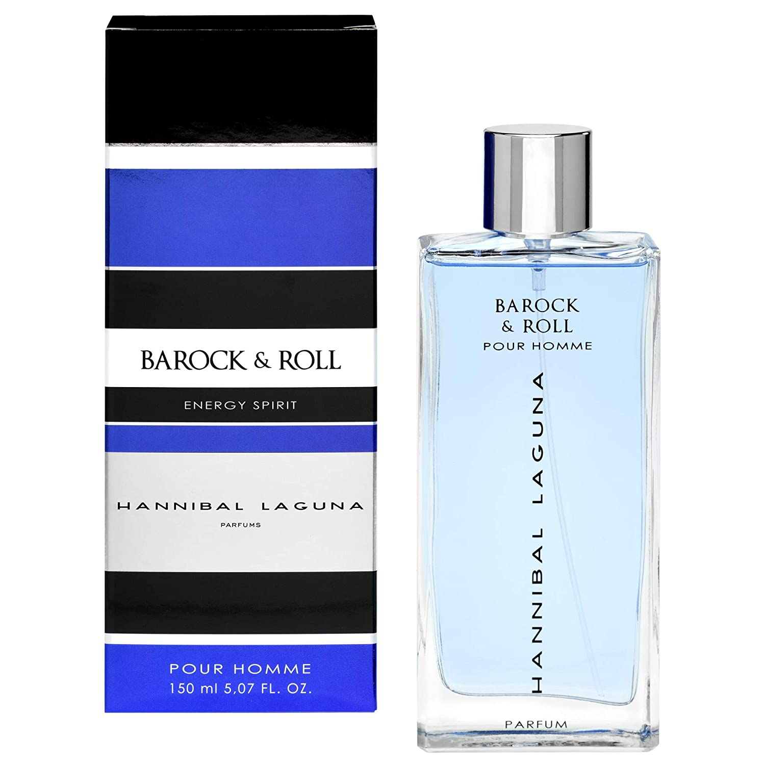 HANNIBAL LAGUNA Perfume Men Barock Roll Vapo - 150 ml (110525): Amazon.es