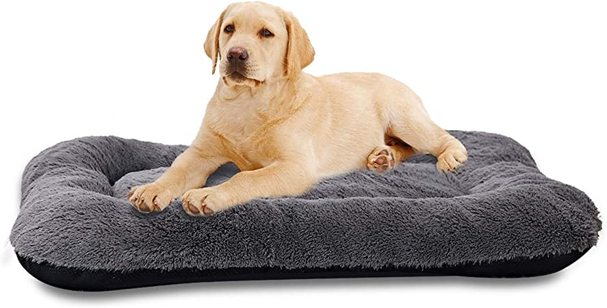 Large Dog Bed Cover Modern Multi Paws Pet Crate Cushion Covers 30 x 40 inches Washable Dog Lover Gift 3 in 1