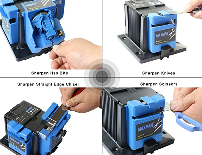Amazon.com: Maxman - Cuchillo eléctrico profesional y ...