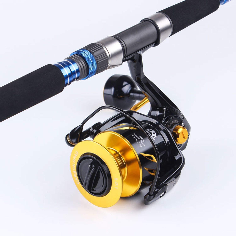 Reel Fishing Lurekiller Saltist Cw3000 Cw10000 Spinning Jigging Reel Spinning 10BB en Alliage Bobine 35kgs Power Drag